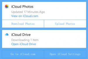 iCloud app