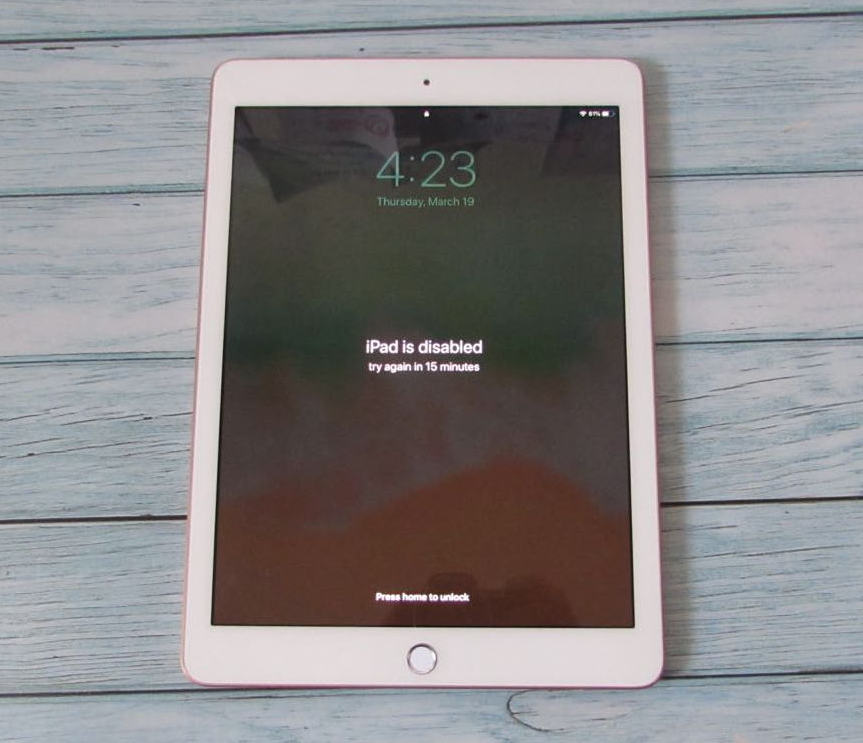 how to unlock and reset an iPad without passcode