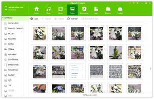 backup photos to PC via SD itransfer-Select