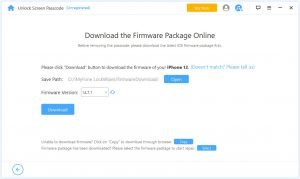 download firmware package iPhone