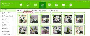 export iPhone photos to Windows 10 PC