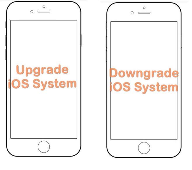 upgrade or downgrade iOS