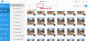 export to pc