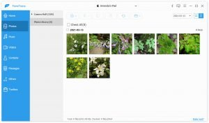 navigate to photo library