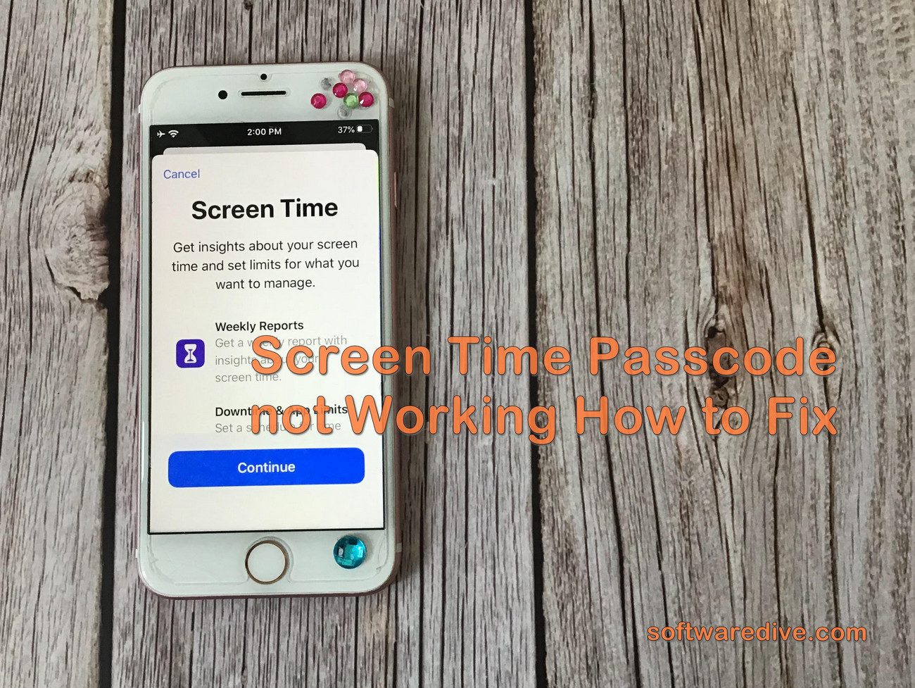 Screen Time Passcode Not Working How To Fix