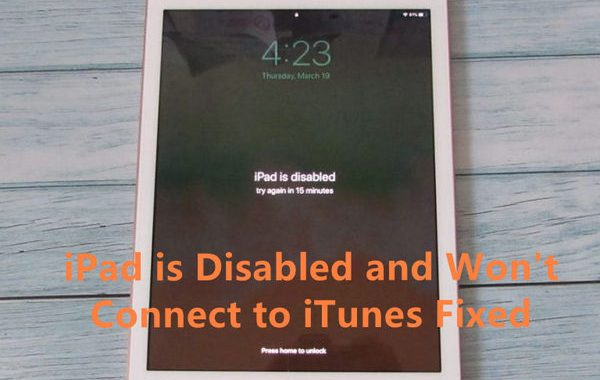 IPad Is Disabled And Won't Connect To ITunes Fixed