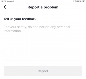 Forgot TikTok screen Time passcode fix -Tell us your feedback