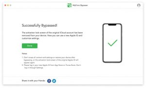 bypass icloud activation lock successfully