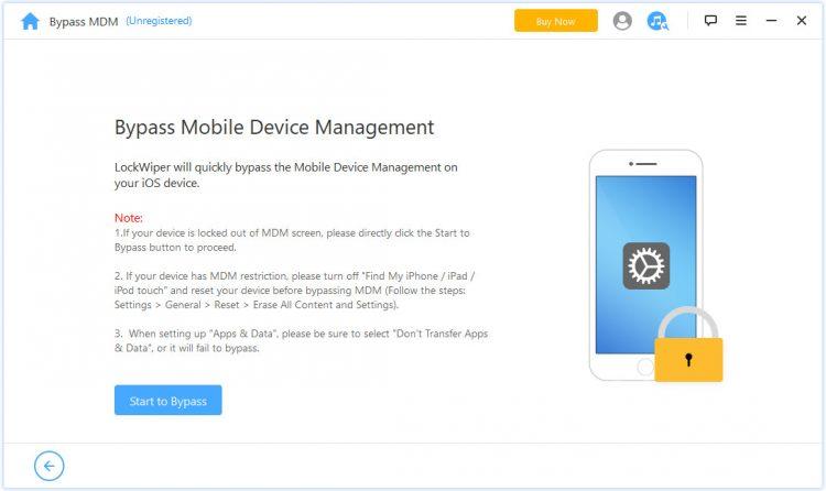 Bypass MDM-SD iPhone unlocker