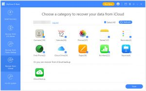Choose iCloud photos to scan