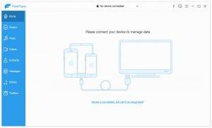Backup iPhone/iPad Photos to Windows PC SD itransfer-Start