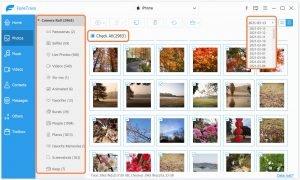 Backup iPhone/iPad Photos to Windows PC-choose photos