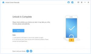 Unlock Disabled iPhone or iPad without iTunes successfully