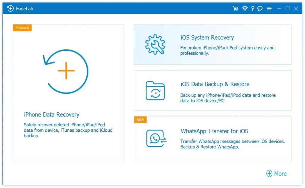 ios data backup and restore start