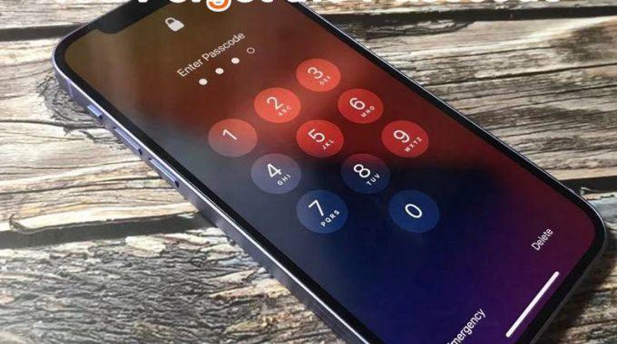 Unlock IPhone 12 If Forgot Passcode